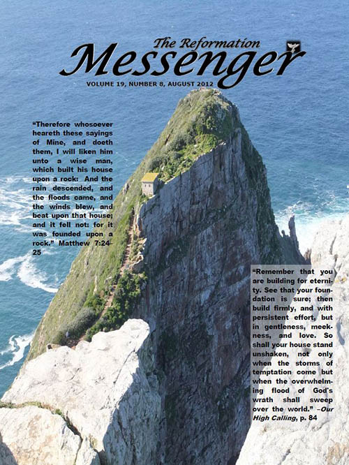The Reformation Messenger - August 2012