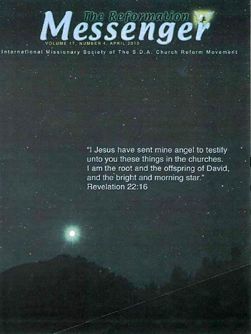 The Reformation Messenger - April 2010