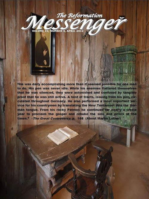 The Reformation Messenger - April 2012