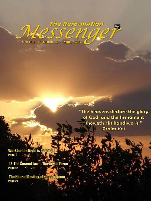 The Reformation Messenger - April 2015