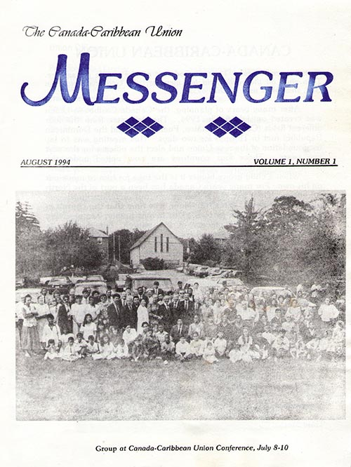 The Reformation Messenger - August 1994