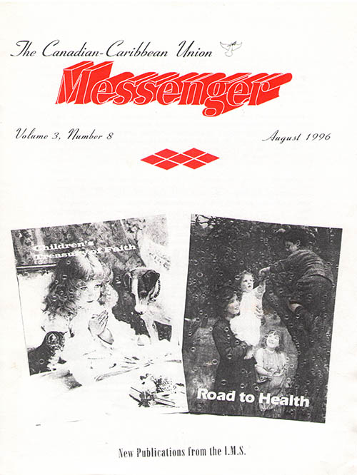 The Reformation Messenger - August 1996