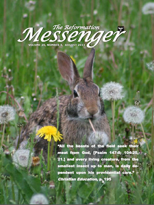 The Reformation Messenger - August 2013