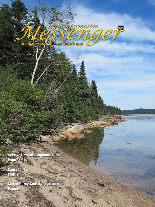 The Reformation Messenger - August 2015