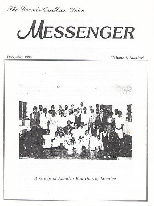 The Reformation Messenger - December 1994