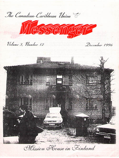 The Reformation Messenger - December 1996