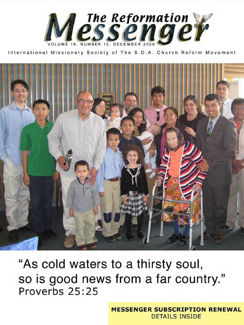 The Reformation Messenger - December 2009