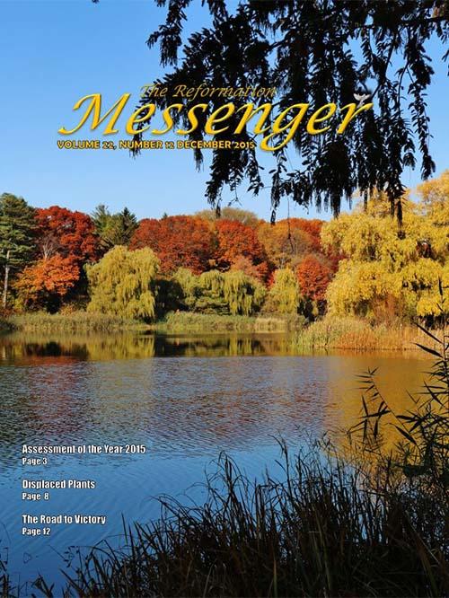 The Reformation Messenger - December 2015
