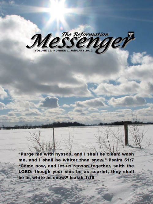 The Reformation Messenger - January 2012