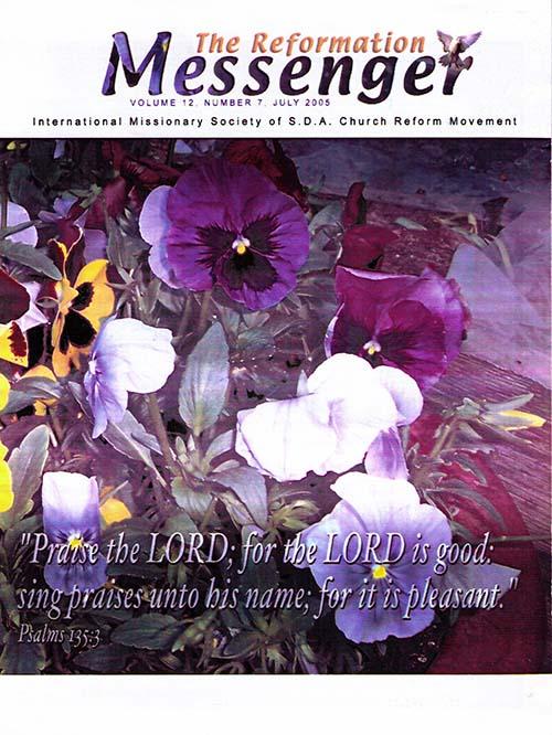 The Reformation Messenger - July 2005