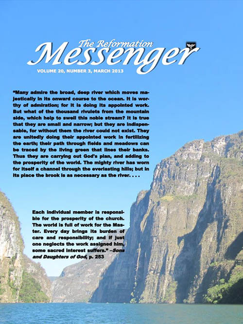 The Reformation Messenger - March 2013