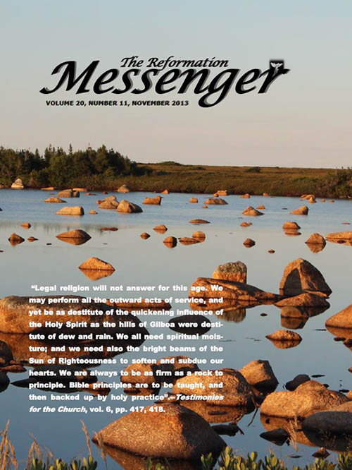 The Reformation Messenger - November 2013