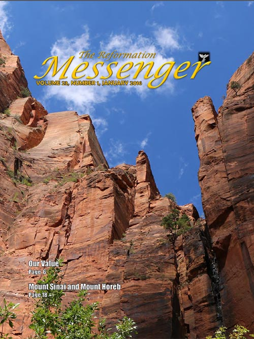The Reformation Messenger - January 2016