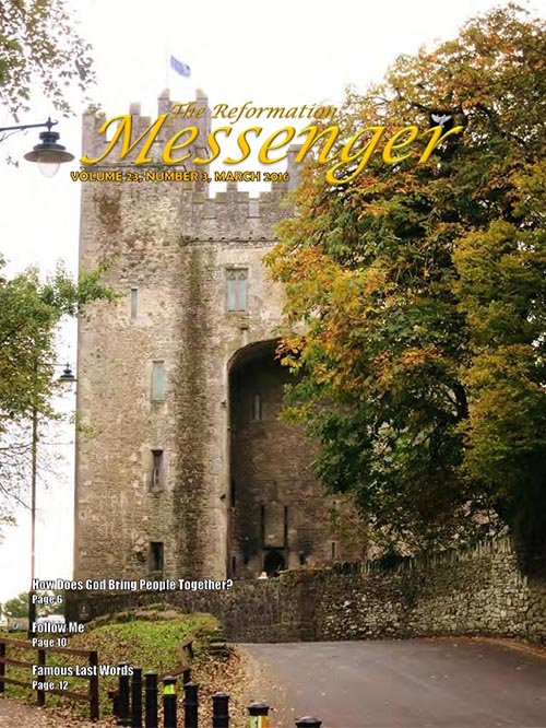 The Reformation Messenger - March 2016
